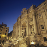 Trevi Fountain Photographic Print by Giuseppe Pannini, Nicola Salvi
