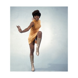 Lola Falana Extemporizes a Dance Step Photographic Print