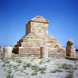 Grave of Cyrus the Great, Before 530 B.C. Photographic Print