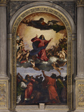 The Assumption of the Virgin Photographic Print by  Titian (Tiziano Vecelli)