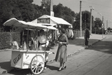 Ice Cream Barrow Photographic Print