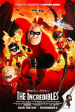 The Incredibles Style A1 Poster Poster