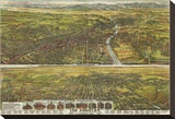 Los Angeles, California, 1894 Stretched Canvas Print by B.W. Pierce
