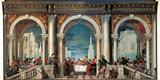 Christ in the House of Levi Fotografisk tryk af  Veronese