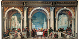 Christ in the House of Levi Photographic Print by  Veronese