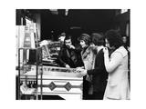 I Camaleonti Playing Pinball Photographic Print