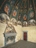 Frescoes in the Camera Della Badessa at the Convent of St Paolo in Parma Photographic Print by  Correggio
