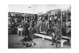 Red Cross, Hospital No. 10 in Cividale. Infected Clothes Storage Photographic Print