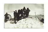 Positioning of the Artillery on the Adamello Photographic Print