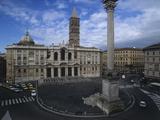 Basilica of Saint Maria Maggiore, 432, 5th Century, Architecture Photographic Print by Domenico Fontana