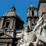 The Four Rivers Fountain Photographic Print by Bernini Gian Lorenzo