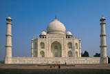Taj Mahal, 1632 - 1654, 17th Century, Marble Photographic Print by Unknown Artist