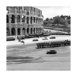 René Coty on a State Visit Photographic Print