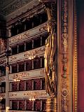 Views of the Teatro Alla Scala Photographic Print by Piermarini Giuseppe