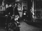 Two Men on a Motorbike in La Dolce Vita Photographic Print