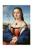 Portrait of Maddalena Doni Giclee Print by Raffaello Sanzio