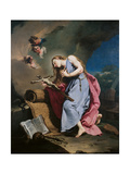 Mary Magdalene Meditating on the Crucifix Giclee Print by Giambattista Pittoni