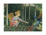 Frescoes of the Chapel of the Magi Reproduction procédé giclée par Benozzo Gozzoli