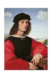 Portrait of Agnolo Doni Giclee Print by Raffaello Sanzio