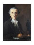 Portrait of Gaetano Barba Giclee Print by Pietro Bardellino