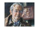 First and Last Thoughts (Self Portrait) Giclee Print by Giacomo Balla