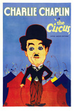 The Circus Movie Charlie Chaplin Plastic Sign Plastic Sign