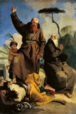 St Fidelis of Sigmaringen and St Joseph of Leonessa Giclee Print by Giambattista Tiepolo