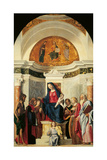 Pala Montini (Madonna with Child Among Sts John the Baptist Giclee Print by  Cosmas