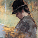 Little English (Piccola Inglese) Giclee Print by Giuseppe De Nittis