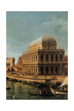 Capriccio with Palladian Buildings Giclee Print by  Canaletto