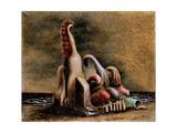 Couple Devant La Mer, by Savinio Alberto (Andrea De Chirico), 1930, 20th Century Giclee Print by Alberto Savinio