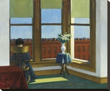 Room in Brooklyn, 1932 Stretched Canvas Print by Edward Hopper
