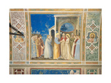 Scenes From the Life of the Virgin Marriage of the Virgin Giclee Print by  Giotto di Bondone