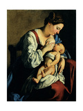 Madonna and Child Giclee Print by Gentileschi Orazio