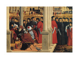 Life of St Stephen St Stephen Disputing Giclee Print by Vittore Carpaccio