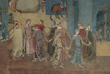 The Effects of Good Government in the City And Country Giclee Print by Lorenzetti Ambrogio