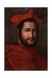 Portrait of the Cardinal Saint Angel Giclee Print by  Venetian School
