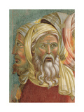 St Francis Before the Sultan (Trial by Fire) Giclee Print by  Giotto