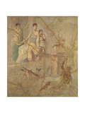 Heracles and Omphale Giclee Print by  Unknown