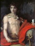 St John the Baptist Giclee Print by  Andrea del Sarto