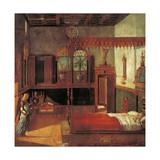 Legend of St Ursula. the Dream of Ursula Giclee Print by Vittore Carpaccio