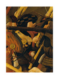 Rout of St Roman (Battle of St Roman) Gicleetryck av Paolo Uccello