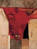 Red Giclee Print by Burri Alberto