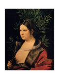 Portrait of a Young Woman (Laura) Giclee Print by Giorgione da Castelfranco