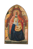 Madonna and Child with St Anne Giclee Print by Tommaso Masaccio
