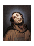 St Francis Giclee Print by  Cerano