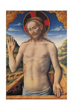 Christ in the Sarcophagus (Jesus Christ Stretching Out of the Sepulcher) Giclee Print by Antonio Vivarini