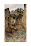 Gignese (Rural Landscape) Giclee Print by Eugenio Gignous