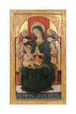 Madonna and Child Enthroned with Four Angels Giclee Print by Pietro Alemanno