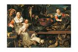 Fishmongers Giclee Print by Vincenzo Campi